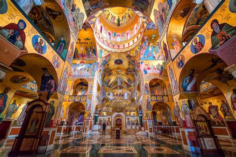 Interior Cathedral of the Resurrection of Christ